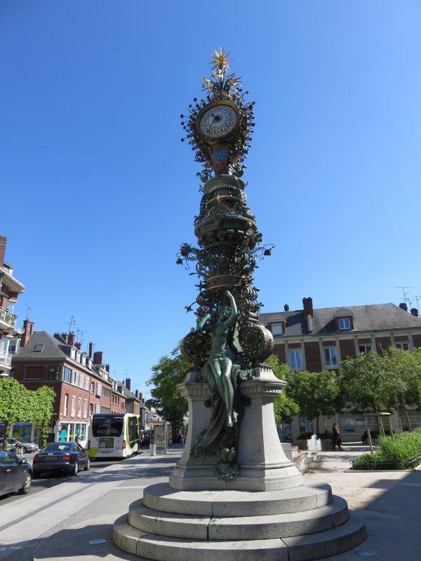 Jean-Yves Brochard au 4° jour : Le jeudi 21 mai 2015 Dans la ville d'Amiens