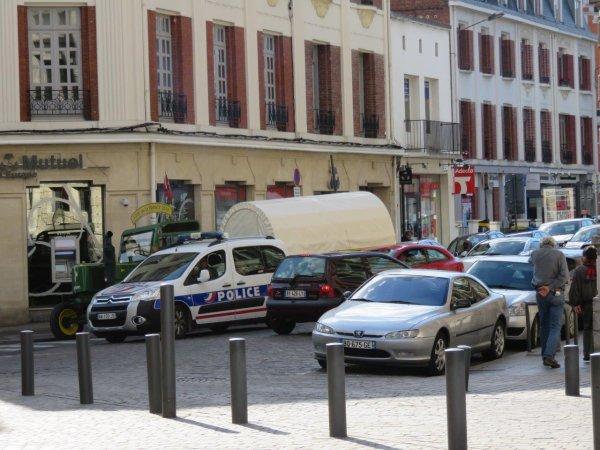 Jean-Yves Brochard au 4° jour : Le jeudi 21 mai 2015 Dans la ville d'Arras
