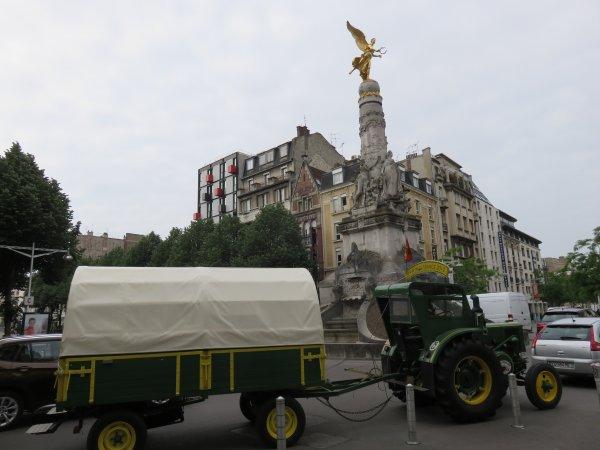Jean-Yves Brochard dans son 2° Tour de la France en 2015, 6° jour : Le samedi 23 mai 2015 dans l'Aisne