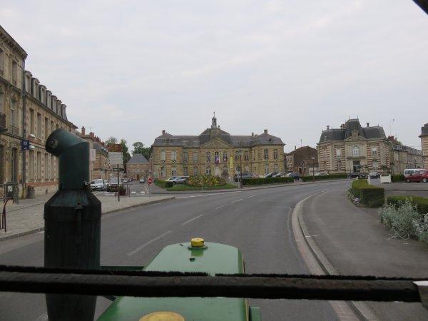 Tour de la France 2015 en tracteur SFV 302 de 1953 6° jour : Le samedi 23 mai 2015