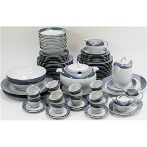53405437339ac5 Générique - Service de table Vaisselle en porcelaine de Baviere pour 12  personnes 84 pieces Sonya - pas cher Achat   Vente Service de vaisselle ...