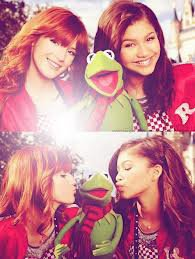 Zendaya and Bella.