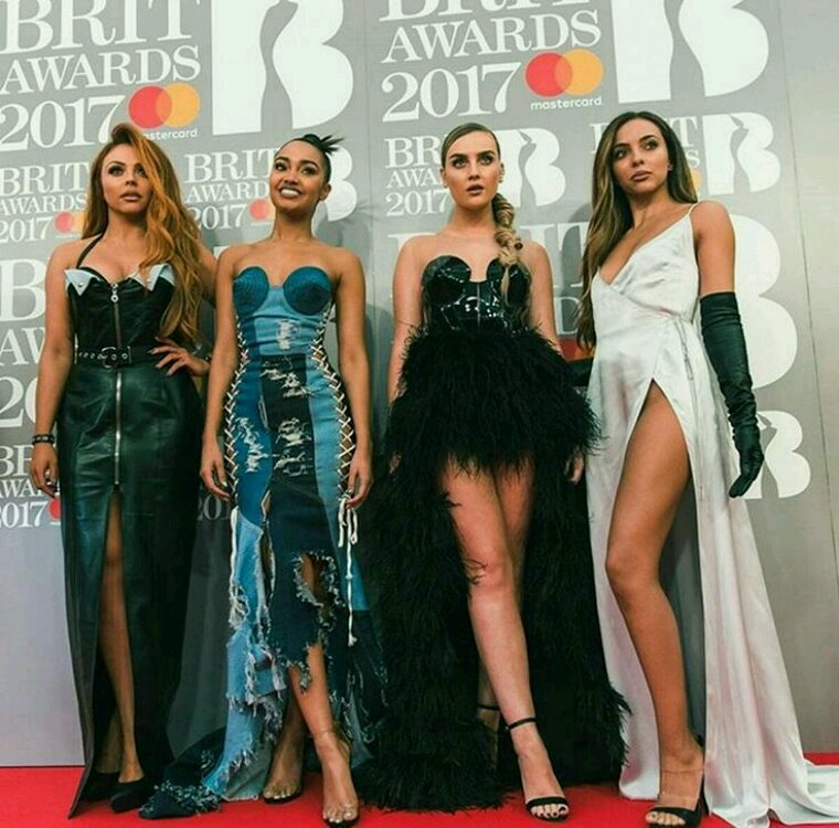 Little mix at brit award 2017