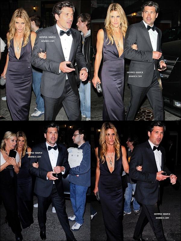 02/05/11 - Patrick s'est rendu, avec Jill, à un gala en l'honneur d'Alexander McQueen au MMoA (NY).