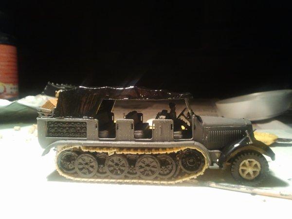 Nouvelle maquette, un Sd. Kfz. 7   1/72