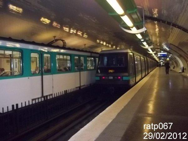 Ligne m tro 4 le mp89 cc n 09 porte de clignancourt blog de ratp067 - Metro porte de clignancourt ...