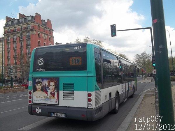 Habillage ligne 118 bus irisbus iveco citelis line - Ligne 118 bus ...