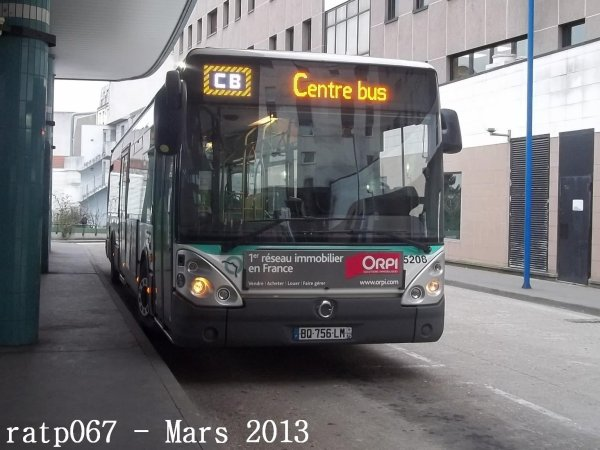 habillage ligne 61 bus irisbus iveco citelis 12 diodes hanover n 5208 de la ligne 133 blog. Black Bedroom Furniture Sets. Home Design Ideas
