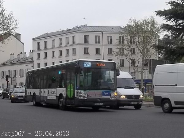 Photos sur l\'itinéraire de la ligne 467,de Boulogne-Pont de Saint ...
