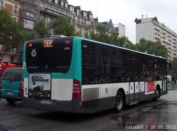 Service de remplacement m tro ligne 4 les bus du 20 05 - Ligne 118 bus ...