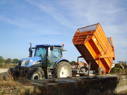 Chantier d'ensilage 2010 (chantier n°1)