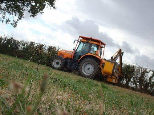 Débroussaillage ( à la ferme) 2010