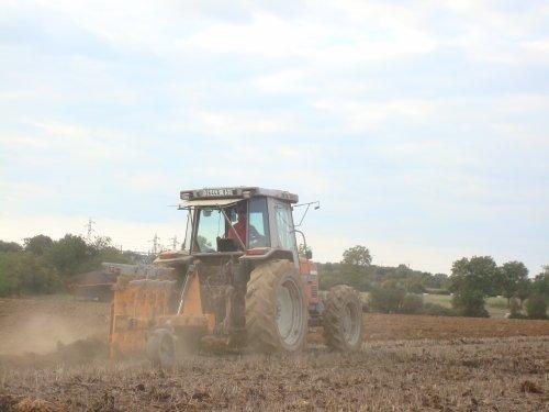 Labour pour semis de ray-grass !