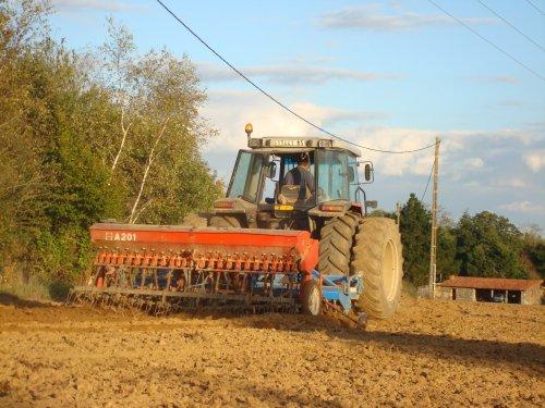 Semis de blé chez un voisin 2010