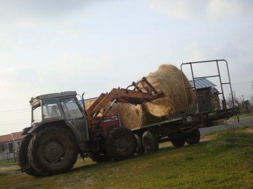 Transport de foin .....
