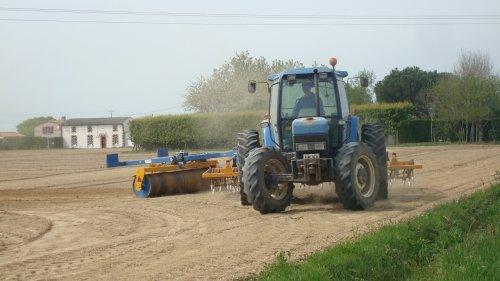 Préparation des Terres pour le maîs ................