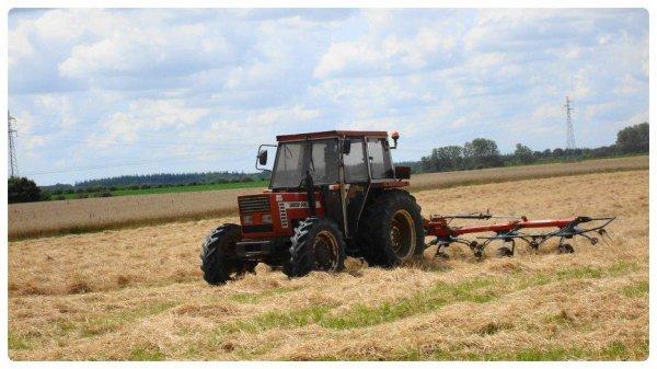 Fanage de Foin le Samedi 21 juillet 2012 ( FIAT 666 DT & VICON ) ...