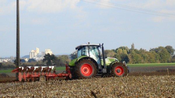 Labours le Dimanche 28 Octobre et Mercredi 7 Novembre 2012 ( CLAAS & NAUD ) ...