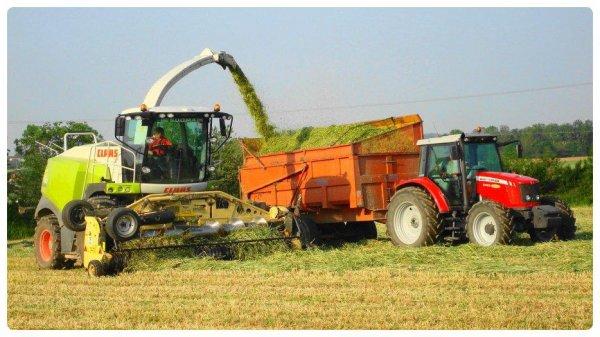 Ensilage de Méteil le Vendredi 10 Juin 2012 (CLAAS JAGUAR 940 ) ...