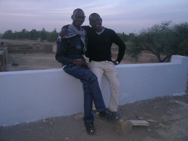 Moi et mon ami Hamadou a Djenne