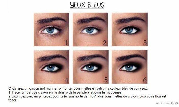 Favoris Maquillage pour yeux bleus! - Blog de beauté MJ19