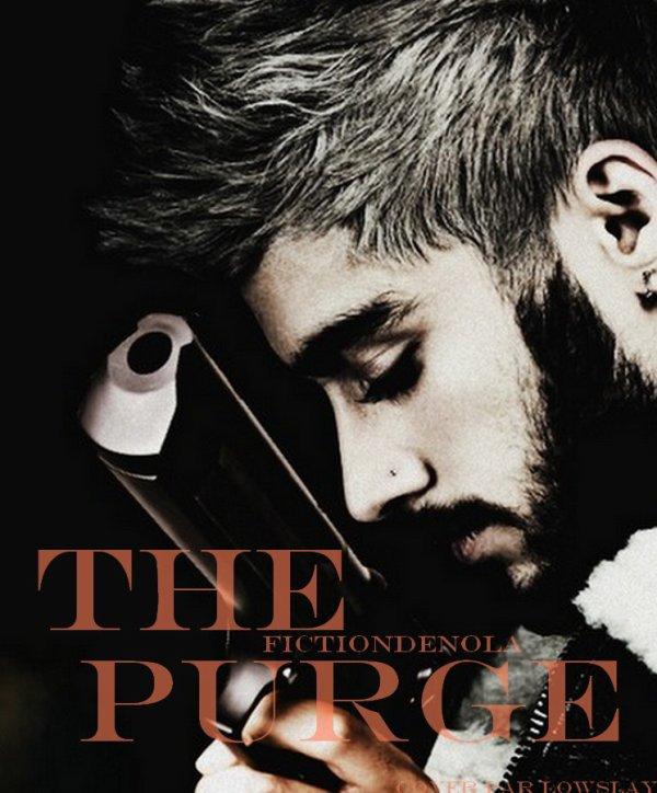 Superbe Cover réalisé par  Lowslay pour la fiction The Purge  (fictiondenola)