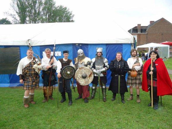 Première sortie avec le clan des Highland Warriors (Merbes-Le-Chateau)