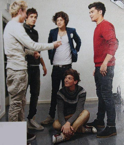 MDR Louis n'a pas trop l'air d'un gamin sur cette photo?