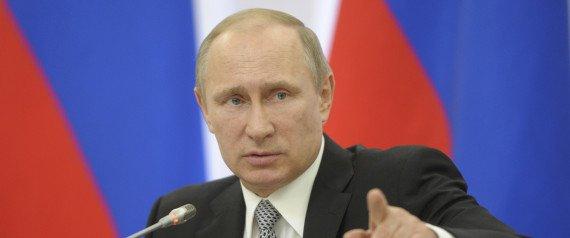 Vladimir Poutine article du mois de Juillet