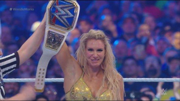 Charlotte Flair. Championne féminine de SmackDown