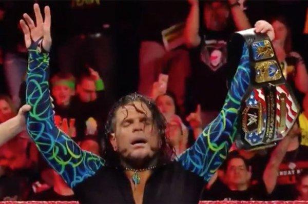 Jeff Hardy. Nouveau Champion des Etats-Unis