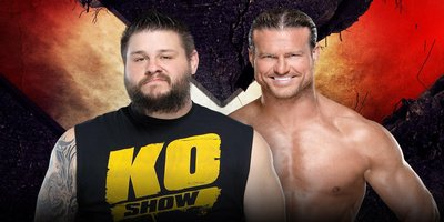 Match simple. Kevin Owens vs Dolph Ziggler