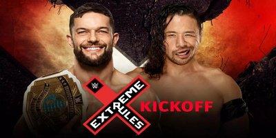 Pre-Show. Championnat Intercontinental. Finn Balor vs Shinsuke Nakamura
