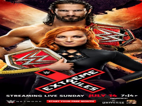 Poster: Extreme Rules 2019