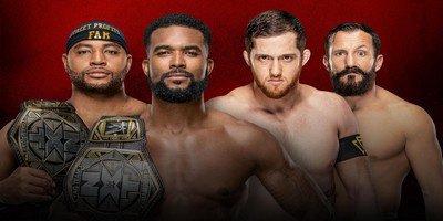 Championnat par équipe NXT. Street Profits vs The Undisputed Era