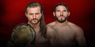 2-Out-3-Falls Match. Championnat NXT. Adam Cole vs Johnny Gargano (Cole a choisi un Match Simple pour le 1er match et Gargano a choisi un Street Fight pour le 2ème match. Et Regal choissira pour le 3ème, si c'est 1-1)