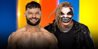 Match simple. Finn Balor vs Bray Wyatt