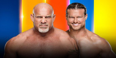 Match simple. Goldberg vs Dolph Ziggler
