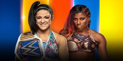 Championnat féminin de SmackDown. Bayley vs Ember Moon