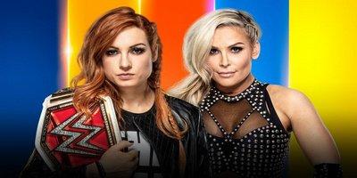 Submission Match. Championnat féminin de Raw. Becky Lynch vs Natalya