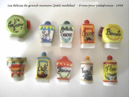 les gourmandises ( petit modèle)