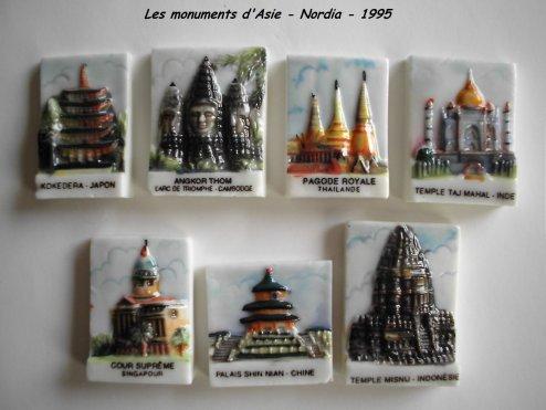 Les monuments d'Asie