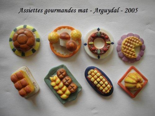 assiettes gourmandises