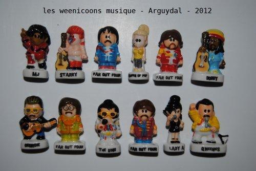 Les weenicons musique 2012