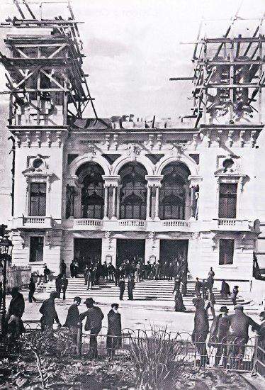 La construction du théâtre municipal d'Oran. - Blog de KECHITIABDELKADER