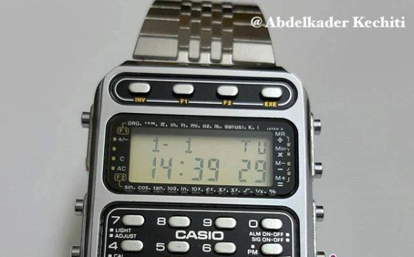 CASIO Montre calculatrice Blog de KECHITIABDELKADER  PcGbl