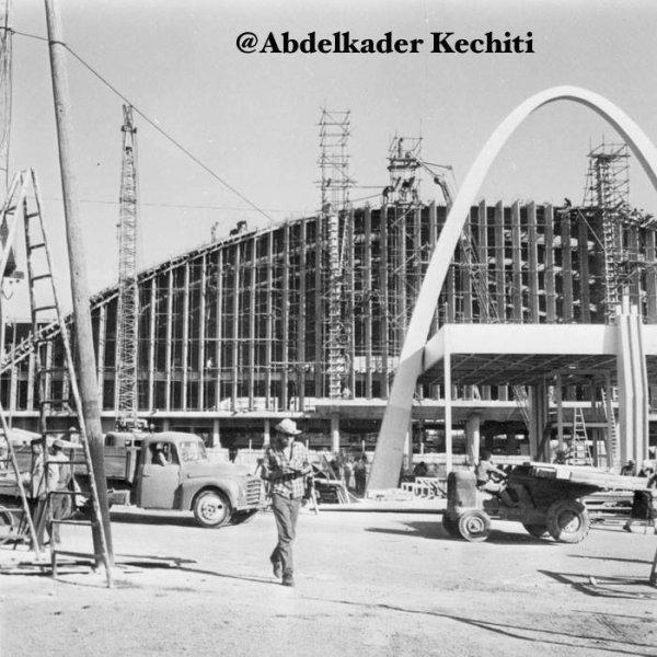 1960 Palais des sports en construction Oran ! - Blog de KECHITIABDELKADER
