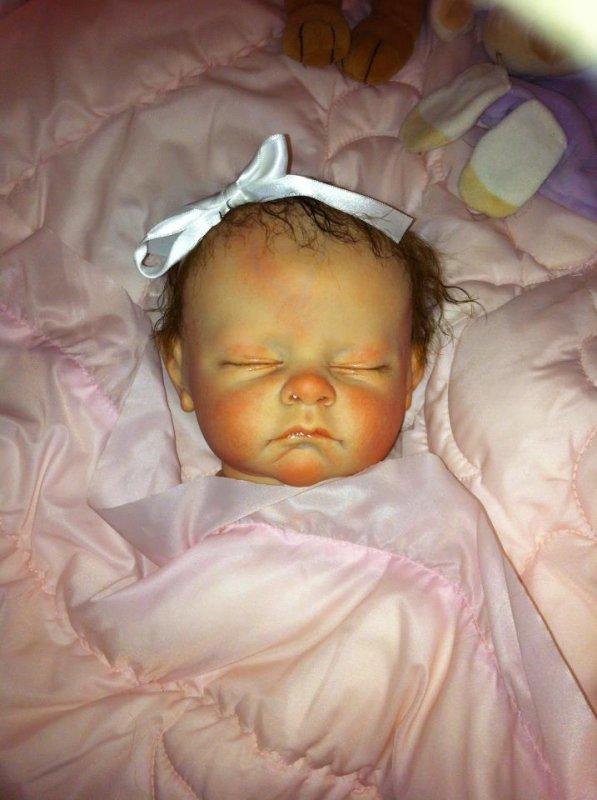 La petite Maelys est née . Issue du kit ANDI