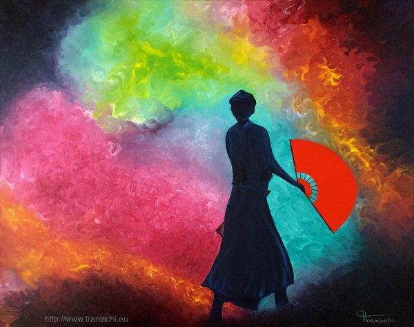 """""""L'éventail rouge"""" sera exposé à Libr'Art"""