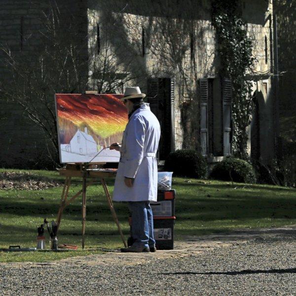 Stage de peinture en extérieur pour bientôt